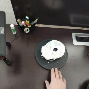 Maneller Drehteller 3D Scan kaufen