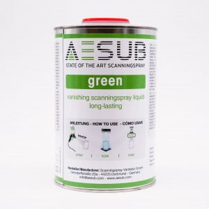 AESUB green flüchtiges Scanspray für die Lackierpistole 1l preis