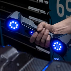 FreeScan UE7 UE11 Professioneller 3D-Scanner für die Industrie Carbon scannen